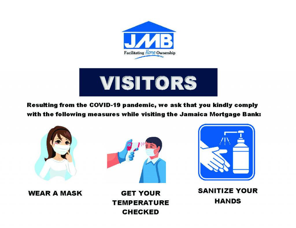 JMB Covid-19 Notice To Visitors